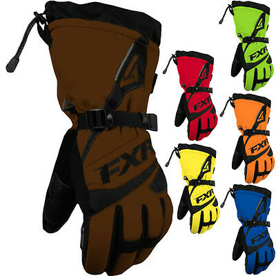 FXR Racing Fuel Solid Mens Snowboard Skiing Snowmobile Gloves