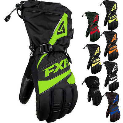 FXR Racing Fuel Black Mens Snowboard Skiing Snowmobile Gloves