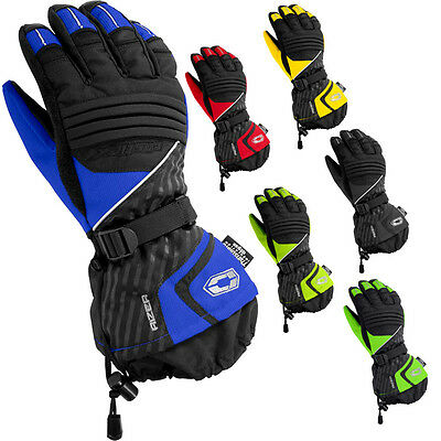 Castle Rizer G7 Mens Snow Winter Cold Weather Snowmobile Gloves