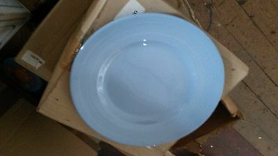 """Wood and Sons Iris 9"""" Plates x 4."""