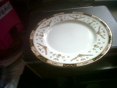"""Queens Bone China Olde England 7"""" Plate x 2."""