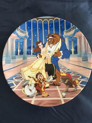 "Disney ""Loves First Dance"", first plate in the Beauty and the Beast collection"