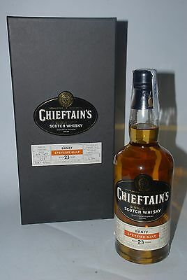WHISKY CHIEFTAINS BANFF 23 YEARS OLD LIMITED 1979 BOTTLE 2002 70cl.