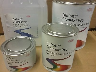 DuPont Cromax Pro Basecoat     Select Tinter from Options