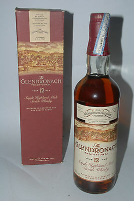 WHISKY GLENDRONACH TRADITIONAL 12 YEARS OLD SINGLE HIGHLAND MALT 75cl. IN SHERRY