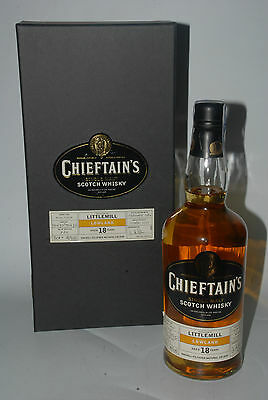 WHISKY CHIEFTAINS LITTLEMILL LOWLAND 18 YEARS OLD LIMITED 1984 BOTTLE 70cl.