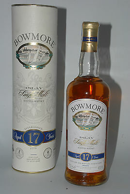 WHISKY BOWMORE 17 YEARS OLD ISLAY SINGLE MALT IN BOX 70cl.