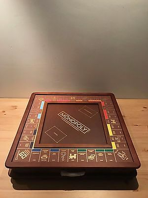 Monopoly Museum Luxury Edition Wood Board Game