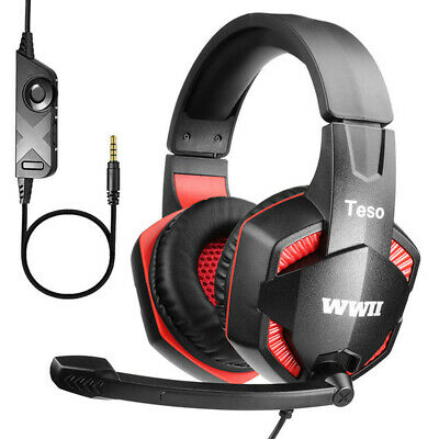 New Game Headset for Xbox one Playstation 4 labtop with build-in Mircophone