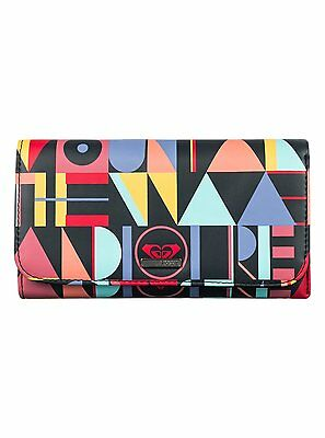 Roxy™ My Long Eyes - Printed Faux-Leather Wallet - Cartera - Mujer