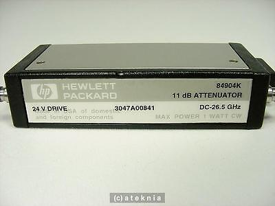 HP Agilent 84904K Programmable Step RF Microwave Attenuator DC - 26.5 GHz TESTED