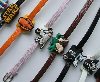 SHOE CHARM BRACELETS (H) - inspired by STAR WARS MOVIES