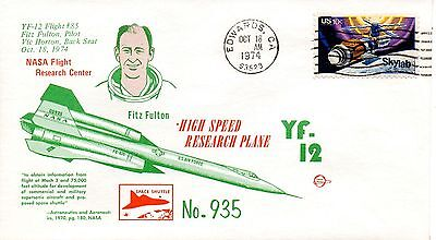 US Space Event, NASA YF-12 Flight #85, Space Voyage (6045)