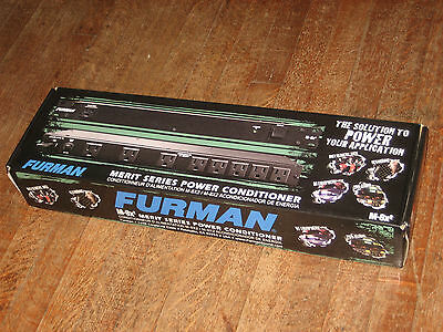 Furman M-8X2 Merit Series 8 Outlet Power Conditioner Surge Protector New in Box