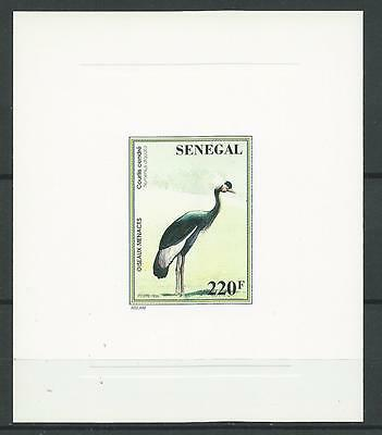 Senegal 1997 Sc#1240(Stamp) Birds-Black Crowned Crane MNH NGAI Inscribed 1996