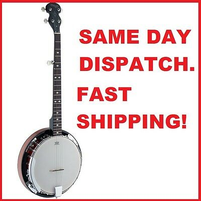 Stagg BJW24DL 5 String Western Banjo - Brand new in box - Lowest price anywhere