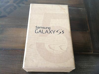 Samsung Galaxy s5 box and accessories no phone