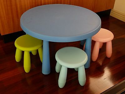 IKEA Kids Table and 3 Chairs