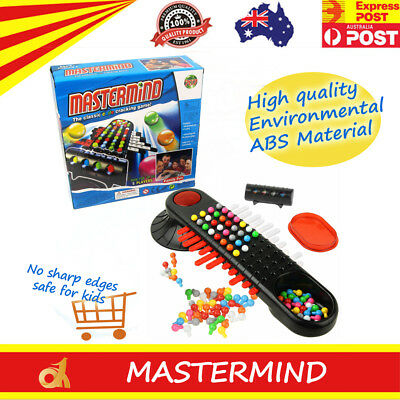 Mastermind Board Game Classic Code Cracking Parker Brothers Up to 5 Players