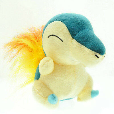 6'' Nintendo Cyndaquil Plush Soft Doll Stuffed Animal Game Collect Kids Toy New