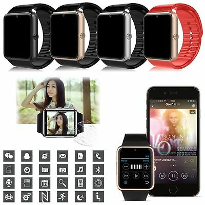Bluetooth SmartWatch Touch screen Smart Watch Phone SIM for IOS Android IPhone