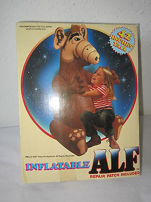 """New In Box Nrfb Inflatable Alf Toy 42"""" Tall Imperial Toy 1987 Gr8 4 Christmas!"""