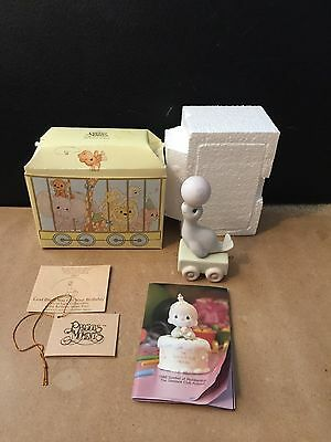 Precious Moments Train Figurine I'm Your Birthday God Bless You 2 Year Old SEAL