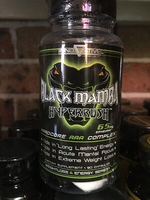 Black Mamba Hyper Rush Fat Burner