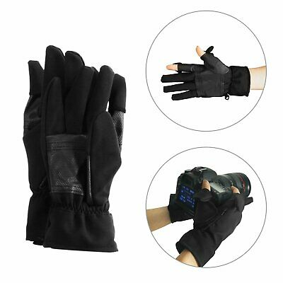 Winter Rain Polar Fleece Gloves  Windproof For Skiing Riding Photography