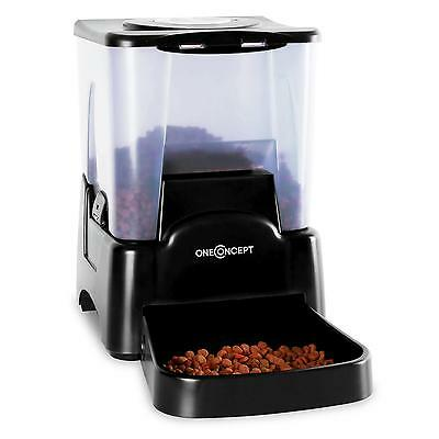 Automatic Dog Cat Feeder Microphone Loudspeaker Integrated Portable Time Lcd