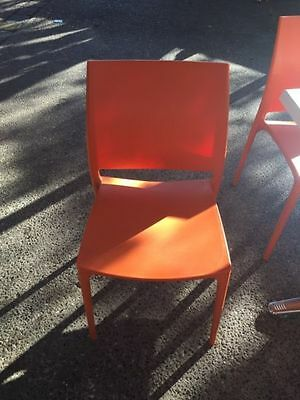Cafe chairs stackable