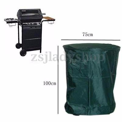 100x75cm Polyester Waterproof BBQ Cover Outdoor Garden Barbecue Grill Protector
