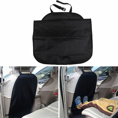 Car Seat Back Protector Cover For Children Babies Kick Mat Protects Storage Bag