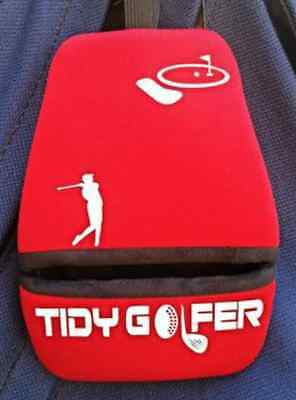 Tidy Golfer (Red) - Golf Club and Ball Cleaner