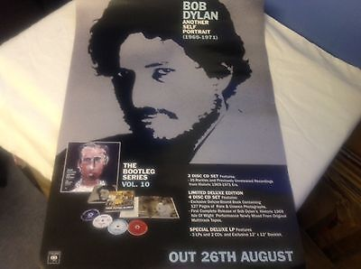 Bob Dylan -Another Self-Portrait- Rare Official Record Co. Promo Poster