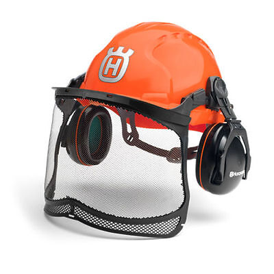 Husqvarna Classic Forest Safety Helmet Head Ear and Face Protection 5807543-01