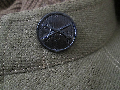 WWI US Army Infantry Collar Disk