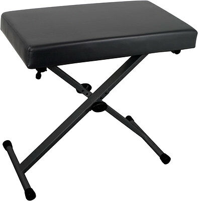 Stagg KEB-A30 Adjustable X-Style Keyboard Bench (NEW)