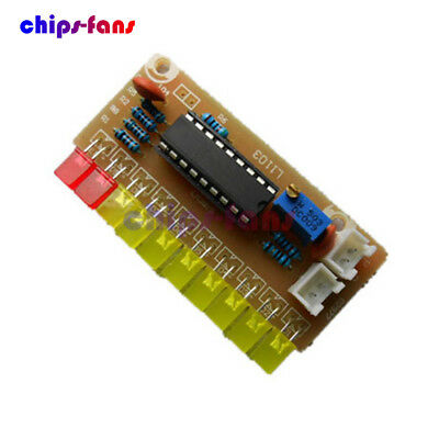 LM3915 Funny 10 Audio Level Indicator DIY Kit Electronic Audio Indicator Suite