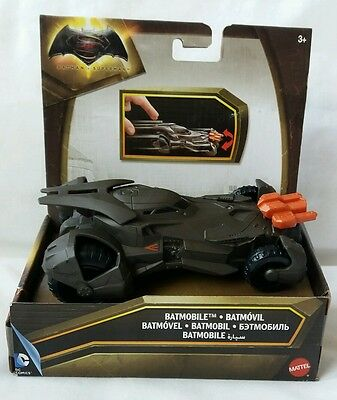 Batman Batmobile Car Vehicle Batman Vs Superman Brand New From Mattel
