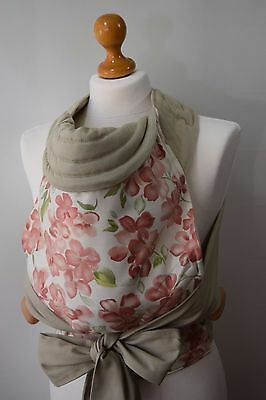 Mei Tai Baby Carrier / Sling / Reversible / Floral Dream /handmade / Made In Uk
