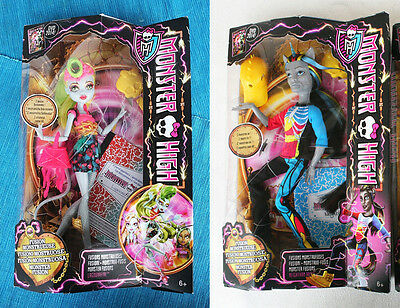 2 Monster High Freaky Fusion (Dvd 2014): Lagoonafire & Neighthan Rot. Brand New!