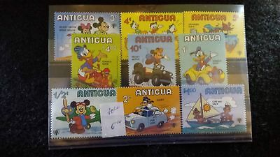 Sellos Disney Antigua Pato Donald Mickey Mouse Minnie Goofy Chipi y Chop