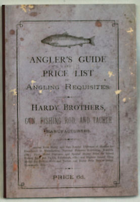 Hardy Bros Circa 1883 Anglers Guide superb reprduction by John Drewett 62 pp/