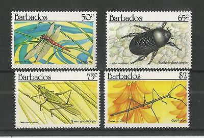 Barbados 1990 Insects Sg,937-940 Um/m Nh Lot 2051A
