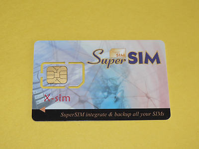 Cell Phone Super Magic Sim Card Back Up 16 In 1