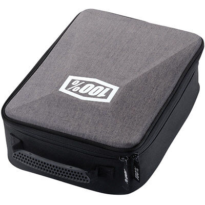 100% Motorcycle Goggles Case Grey