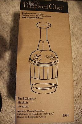 PAMPERED CHEF Food Chopper #2585 BRAND NEW IN BOX!  FREE shipping!