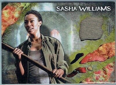 2016 The Walking Dead Survival Box Relics Infected Sasha Williams (Shirt) #68/99