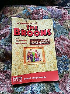 the broons musical programme + oor wullie trail map dudley d. Watkins